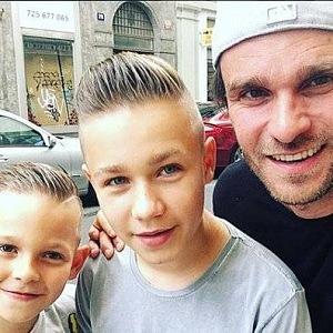 Leoš Mareš s jeho syny