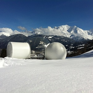 Nuit Nature, Francie s horou Mont Blanc