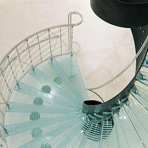 Hotel Josef, stairs