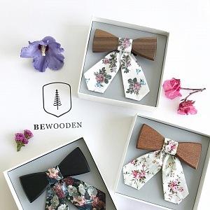 Dámský motýlek Bewooden