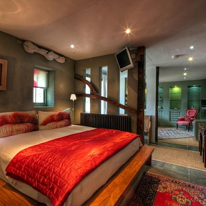Swaffham – Strattons Hotel, poutavý interiér