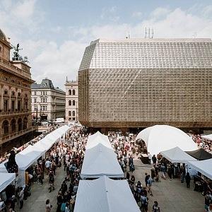 Dyzajn market u Národního divadla
