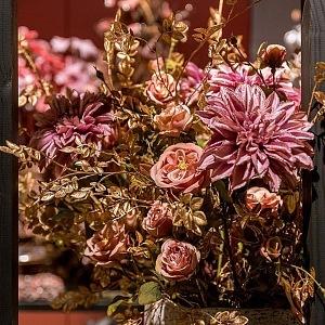 Hedvábné květiny od značky Jasaco.