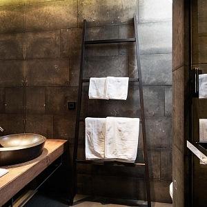 Chalet Marhon, koupelna