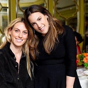 Mary Katrantzou (right)