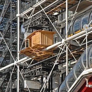 Tadashi Kawamata, Tree Huts, Centre Pompidou, 2012