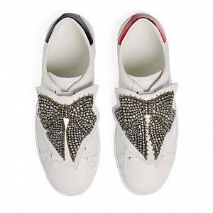 Luxusní boty s kamínky.