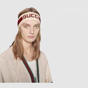 Stylová zimní čelenka Gucci