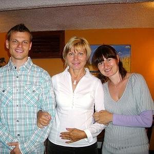 Manželka a děti.