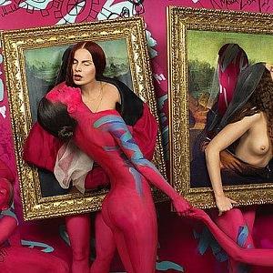 Shangti da Vinci Fussion Orgy