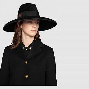 Luxusní elegantní klobouk Gucci