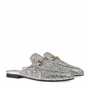 Třpytivé boty s glittery..