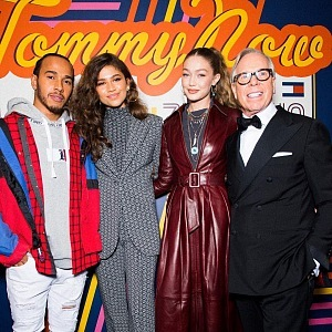 Lewis Hamilton, Tommy Hilfiger fashion show