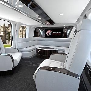Bell 525 Relentless - luxusní interiér