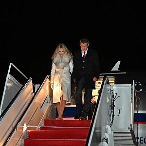 Cesta do USA, kabát Fendi, kabelka Hermès