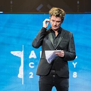 Moderátor večera Tomáš Měcháček