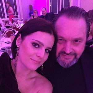 Ornella se svým manželem Josefem Koktou