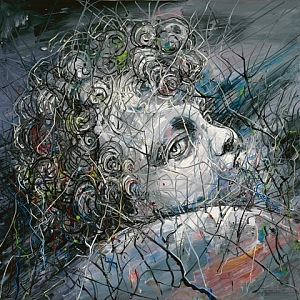 The Christ Child, 2012, 150x150cm