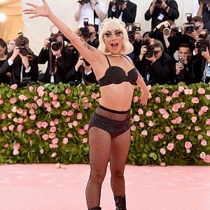 Lady Gaga in underwear