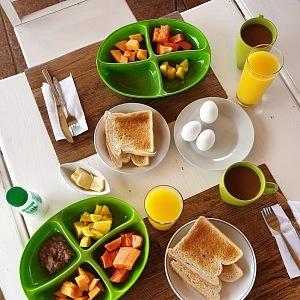Snídaně v nemají v Dominikáně chybu!