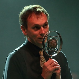 Jiří Vejdělek with his award