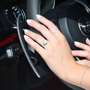 Prsten z kolekce Zásnuby, ALOVE, 3 karátový diamant