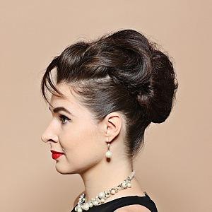 In Audrey Hepburn style