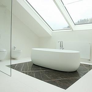 Koupelna s vanou IlBagnoAlessi One