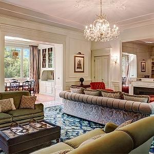 Interiér jeden z pokojů vily d´Este