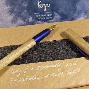 Plnící pero Kayu s magnetikým uzávěrem