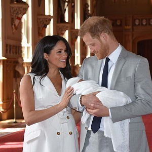 Šťastná rodina britského královského dvora