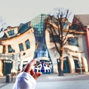 Křivý dům je nyní oblíbenou atrakcí