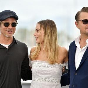 Brad Pitt, Leonardo Di Caprio, Margot Robbie