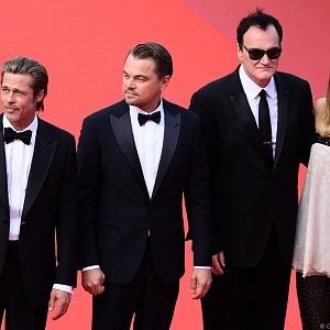 Brad Pitt, Leonardo Di Caprio, Tarantino, Margot Robbie