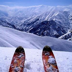 Írán, pohoří Alborz
