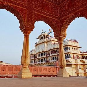 Královský palác je 300 let starý.