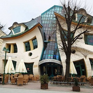 The Crooked House is favorite attraction