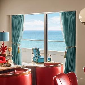 Faena Hotel - jedinečný výhled