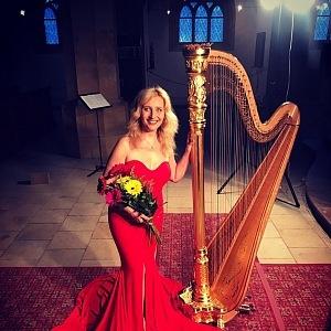 Jana Boušková je nejlepší harfistkou na světě.