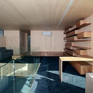 Unikátní dřevěný interiér