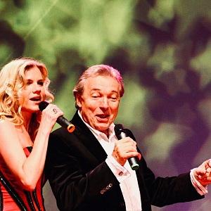 Leona s Karlem Gottem, kterého s úctou obdivovala.