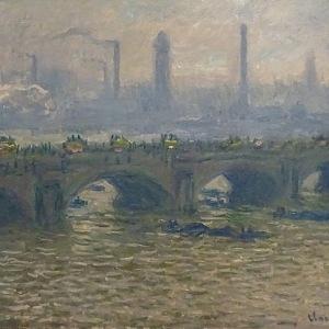 Claude Monet Mořská scenerie, Le Havre, kolem 1866
