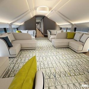 Airlander 10, Infinity lounge zóna