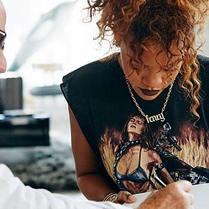 Rihanna a Manolo Blahnik