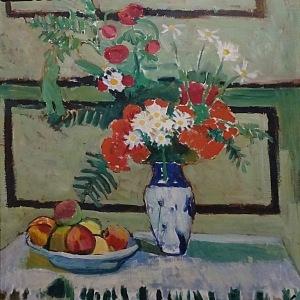 Henri Matisse, Květiny a ovoce, 1909