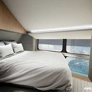 Airlander 10, kabina