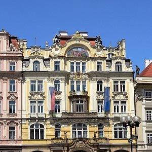 Palác Pražské městské pojišťovny na Staroměstském náměstí, nyní Ministerstvo pro místní rozvoj