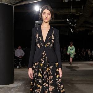 Amazing dress with prints
