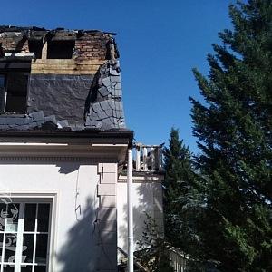 Střecha potřebuje opravit jako první.