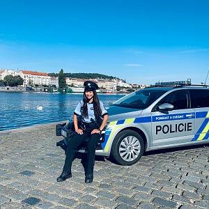 Jana Macháčková je hrdou policistkou